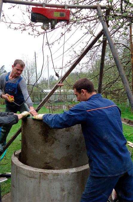 Как мы углубляем колодец в Апрелевке