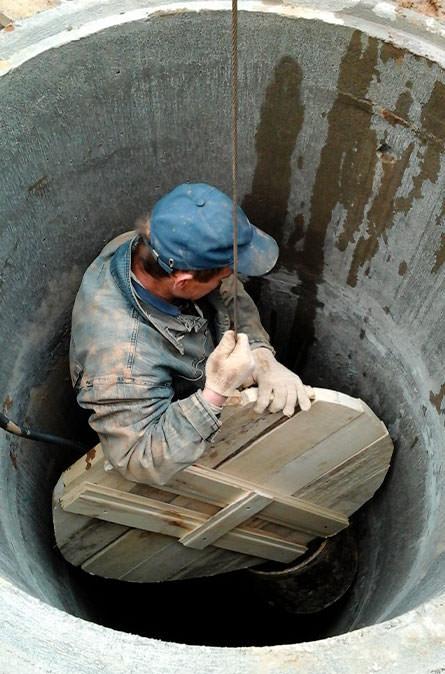 Как мы выполняем чистку колодца в Апрелевке