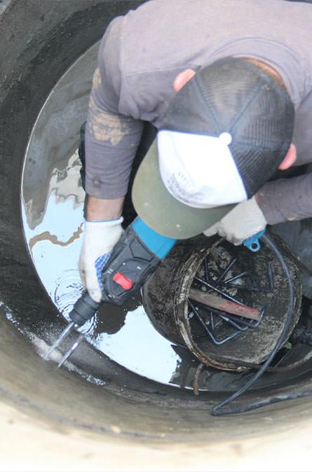 Как мы выполняем ремонт колодцев в Апрелевке